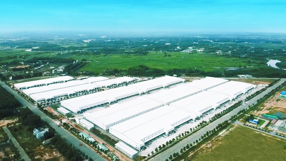 [Caption]Construction of the My Phuoc 4 Industrial Park is scheduled to be completed in August 2021. Photo by BW.