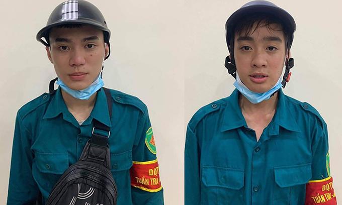 Hanoi teens impersonate Covid task force members in extortion racket