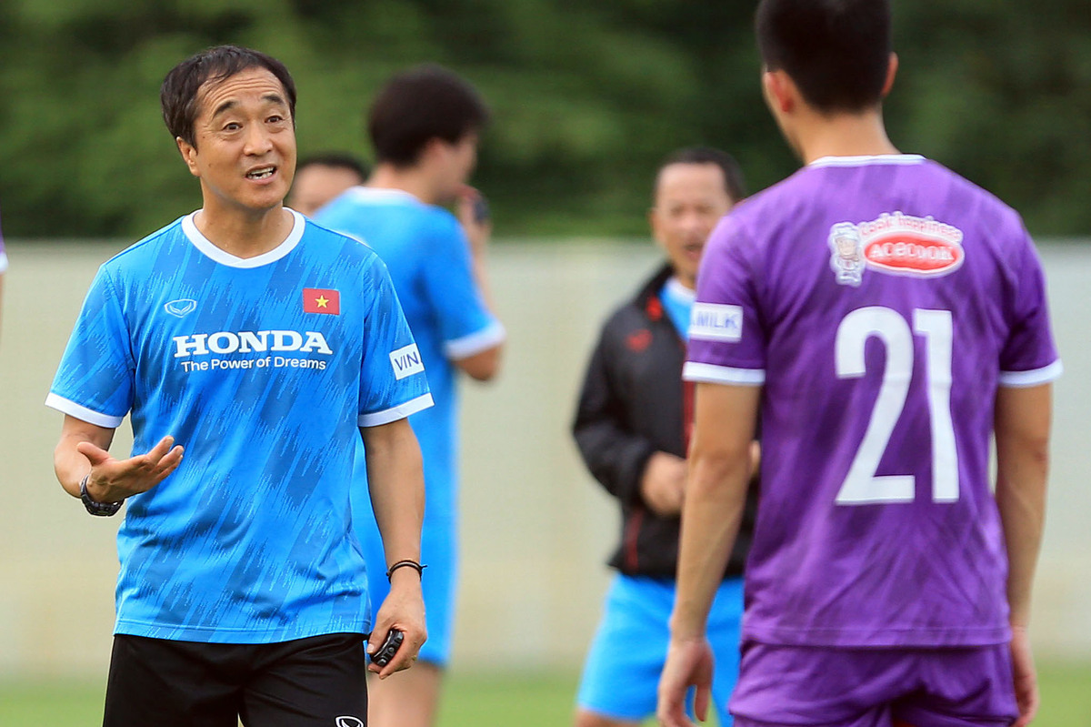 National football team start training for World Cup qualifiers