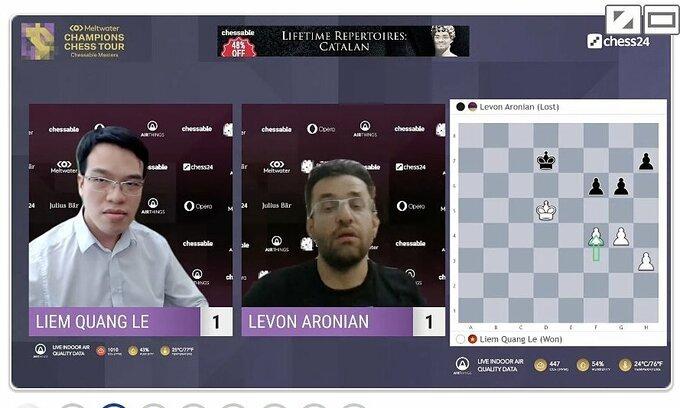 Vietnamese grandmaster survives Armageddon to reach Chessable Masters final
