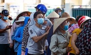 Mayhem reigns at Hanoi charity site