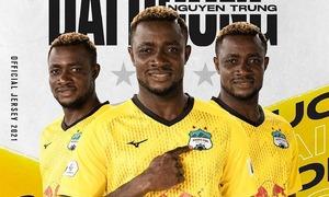 V. League table leader part ways with Nigerian-Vietnamese forward