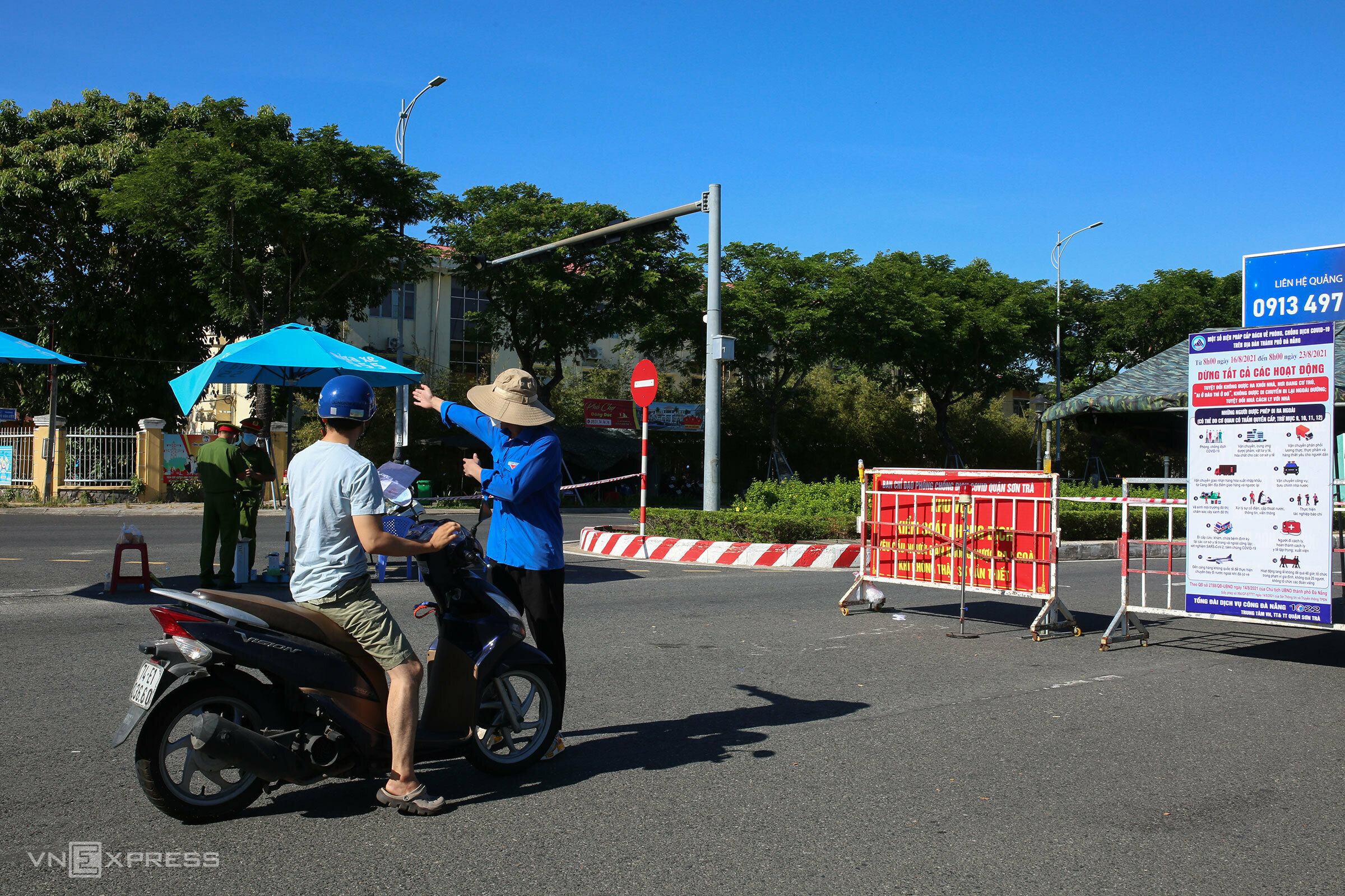 Da Nang turns ghost town as residents stay indoors