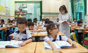 HCMC to begin online classes for primary school students