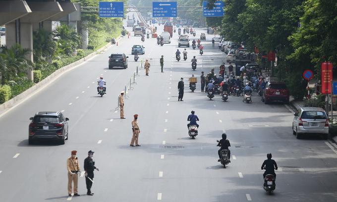 Hanoi extends social distancing until first week of September