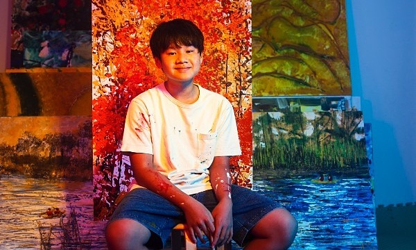 Teen art prodigy raises $22,000 for disadvantaged students