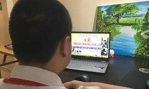 Hanoi students to begin new school year online