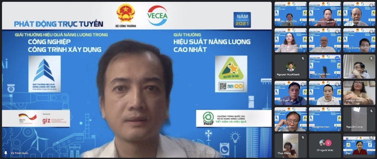 Trinh Quoc Vu, deputy director of the Energy Efficiency and Sustainable Development Department under the MoIT. Photo by: VTK