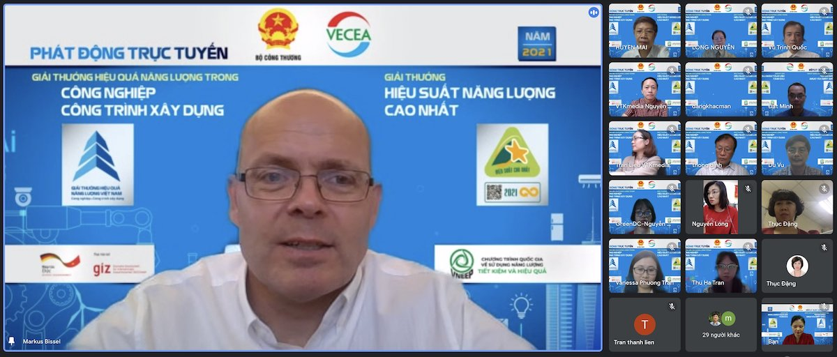 Markus Bissel, head of Energy Efficiency Component of 4E Project. Photo by: VTK