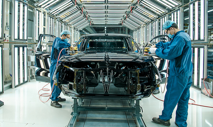 95 pct made-in-Vietnam auto parts for foreign brands
