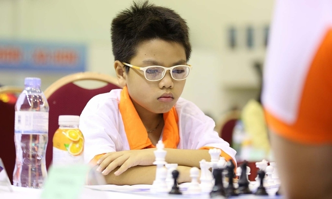 Eight Vietnamese advance to quarterfinal of youth chess world cup