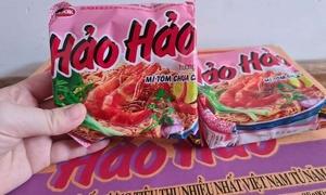 Ireland recalls Vietnam's Hao Hao noodles over food safety concerns