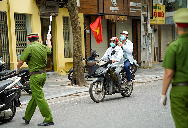 Hanoi has recorded 3,132 local Covid-19 cases since the fourth coronavirus wave hit Vietnam in late April. The capital has undergone a series of social distancing periods, with the latest one being extended until September 6.