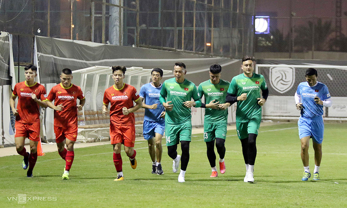 Ace goalie back with teammates for World Cup qualifier training