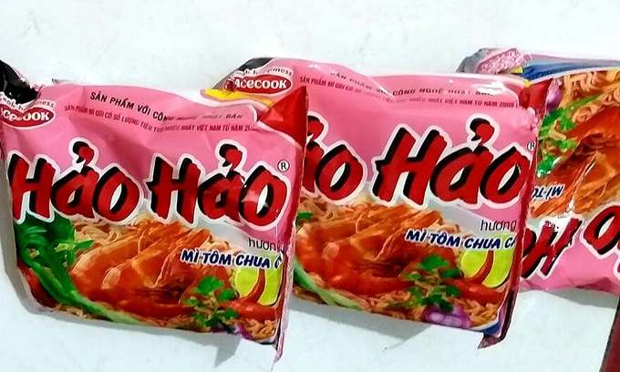 Vietnam safe from recalled EU products: Japanese instant noodles maker