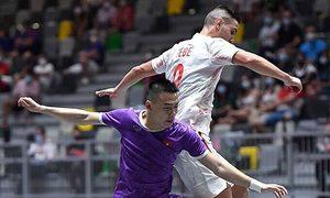 Vietnam national futsal team lose to Spain in friendly