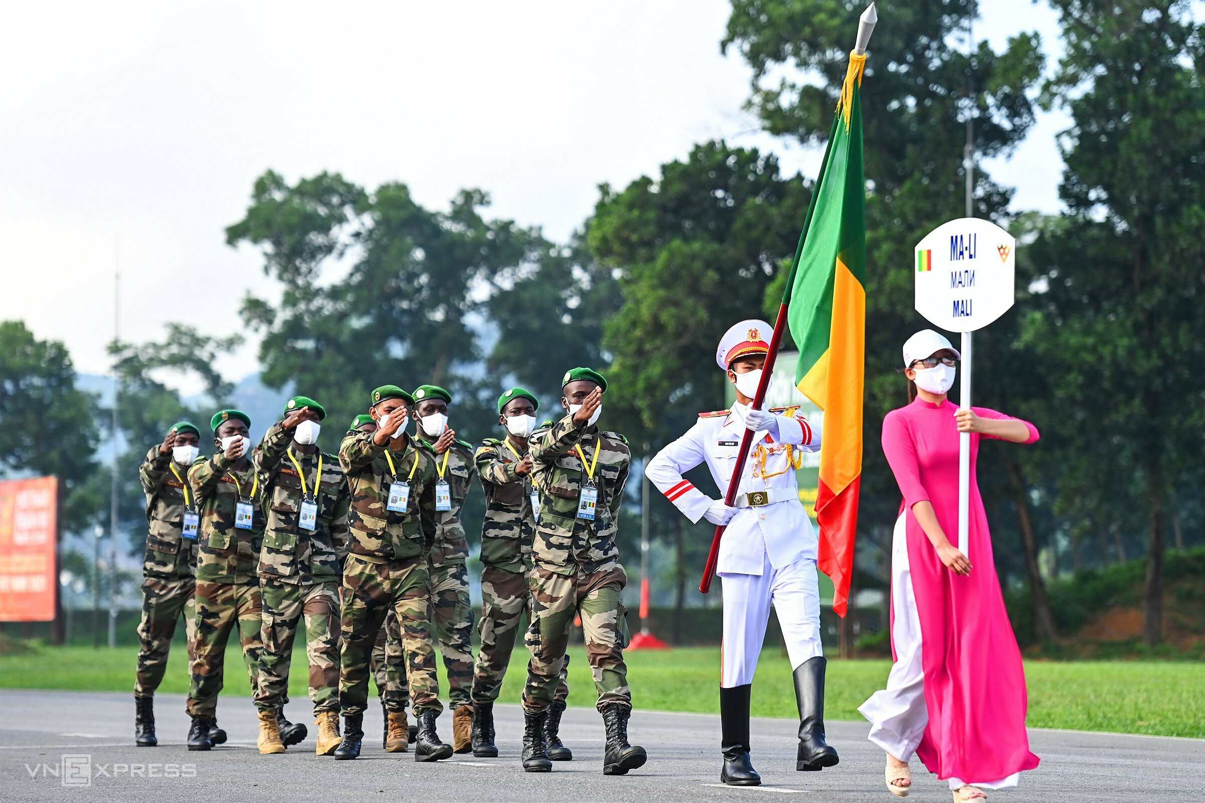 Vietnam hosts two Army Games 2021 contests