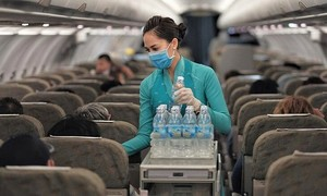 Grounded carriers and careers: flight attendants seek other jobs