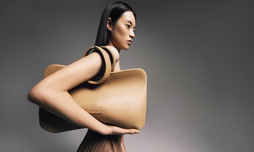 Handbags inspired by traditional Vietnamese ao dai