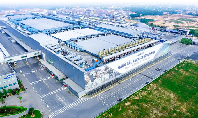 Samsung to expand northern Vietnam plant