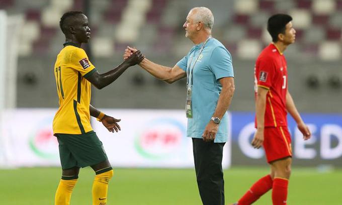 Australia coach aims for victory in Vietnam clash
