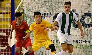 Vietnam draw against top Spanish futsal club in friendly