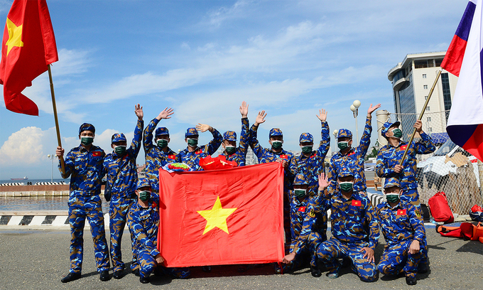 Vietnam ranks seventh at International Army Games 2021