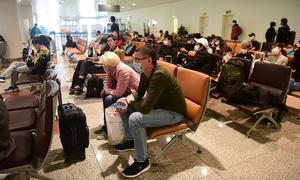 Foreigners' travel plans hit as Vietnam suspends domestic flights