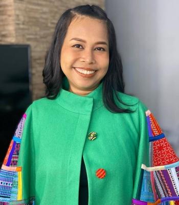 Desiani Haf is in Sapa in 2020. Photo courtesy of Desiani Haf.