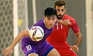 Vietnam lose to Morocco ahead of Futsal World Cup