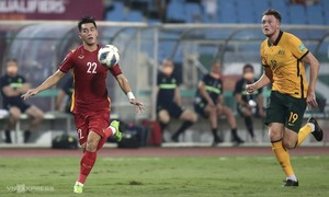 Australia fans complain about pitch conditions in Vietnam clash