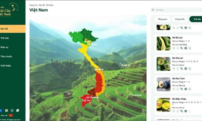 Vietnam presents fruit map at largest EU fair
