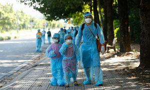 250 Saigon children orphaned by Covid-19