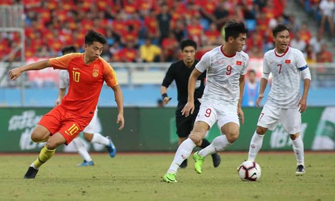 China lose home advantage in Vietnam clash