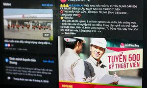 LG, Samsung Vietnam go on hiring spree