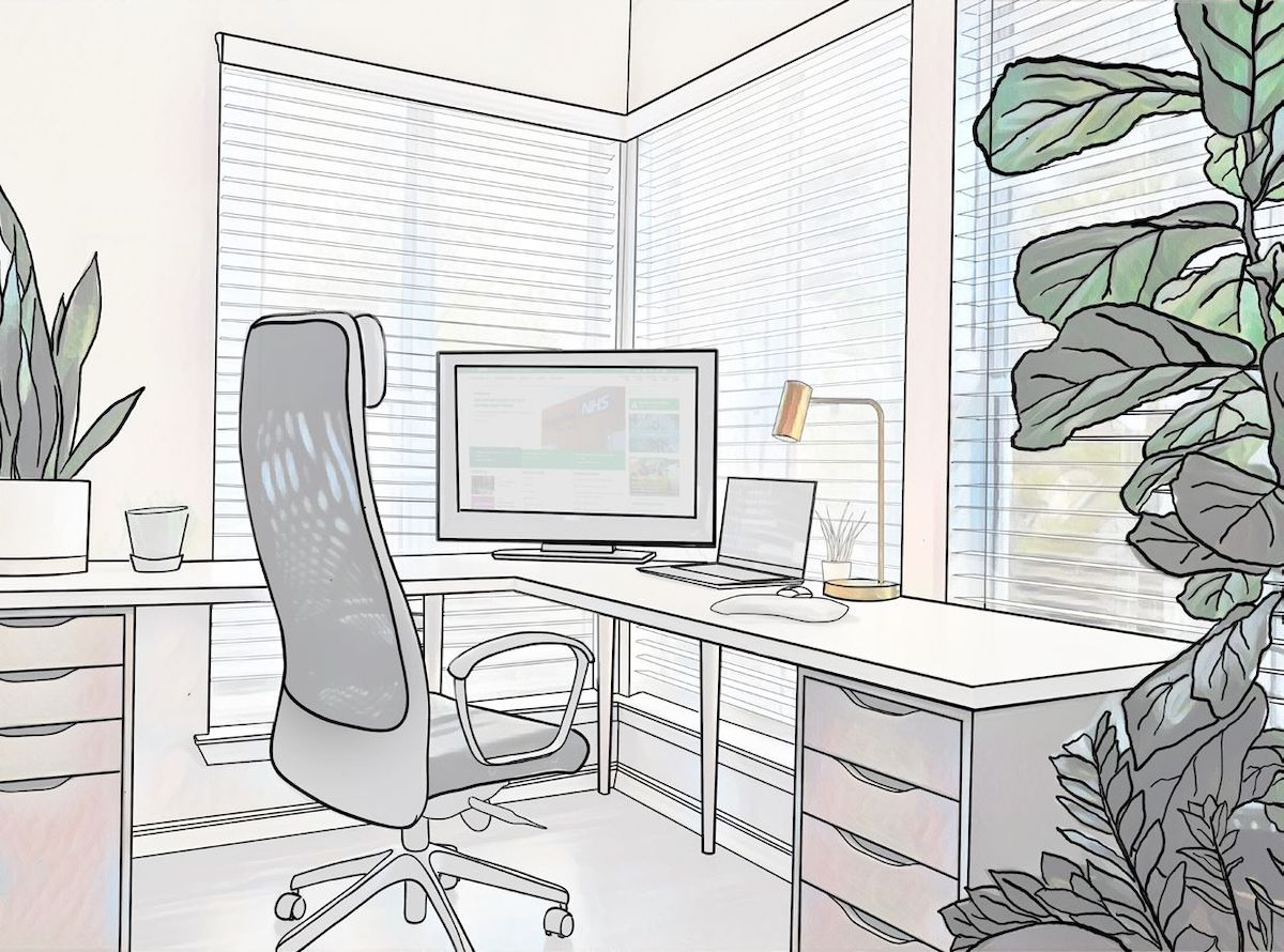 An outside view and natural light would boost productivity and inspiration at workplace. Photo by?