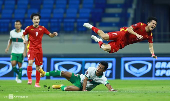 Injury haunts Vietnam national football team