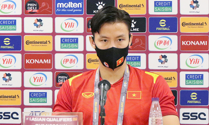 Vietnam captain shows determination ahead of World Cup qualifiers against China, Oman