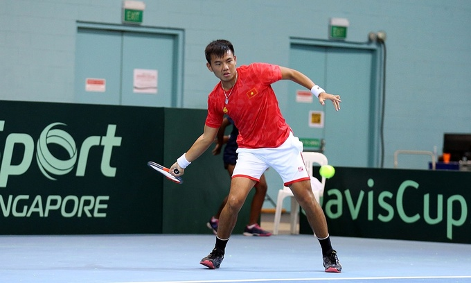 Vietnam enter Davis Cup play-offs with dominant show