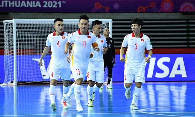 Vietnam grab victory over Panama in Futsal World Cup