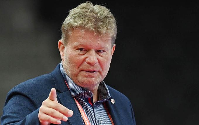 Coach Tomas Neumann of the Czech Republic national futsal team. Photo by FIFA