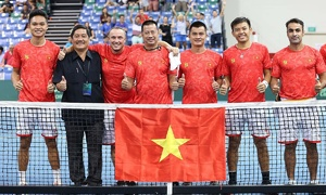 Vietnamese players to compete in five Egypt tennis tournaments