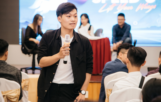 Dung is now CEO of a company specializing in the recruitment and career guidance of students.  Photo courtesy of Hoang Dung
