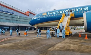 300+ passengers from France arrive in Quang Ninh under vaccine passport policy