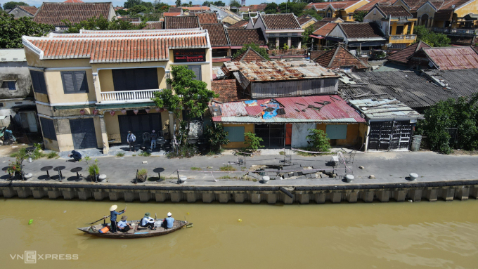 Multimillion dollar Hoi An embankment subsides in just four years