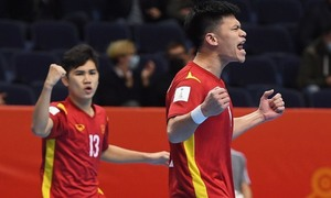 Vietnam exit Futsal World Cup with narrow defeat against defending runners-up Russia