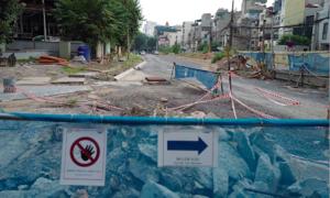 Main contractor stops work on Hanoi metro underground section