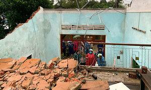 Storm Dianmu weakens into tropical depression over central Vietnam