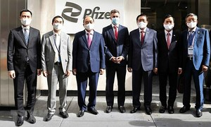 Vietnam asks Pfizer for more vaccine supply