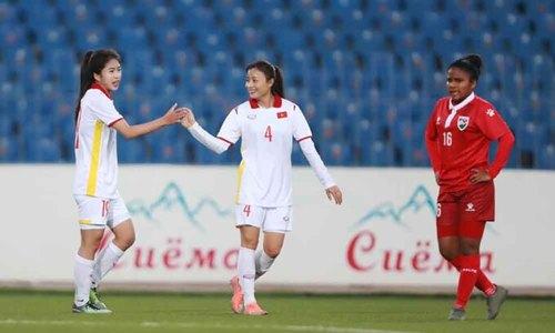 Vietnam women beat Maldives 16-0 in Asian Cup qualifiers, coach unhappy